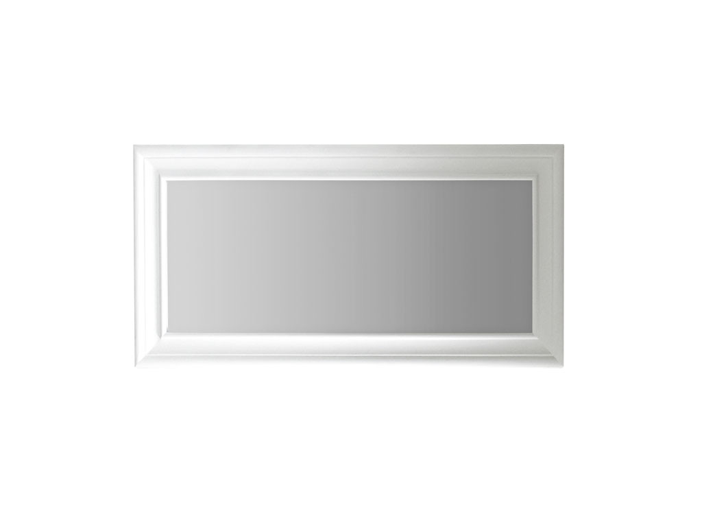 Białe lustro Olsen