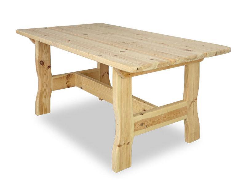 Masywny stół sosnowy 90x160 - WYPRZEDAŻ