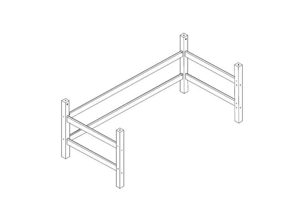 moduł łóżka na antresolę