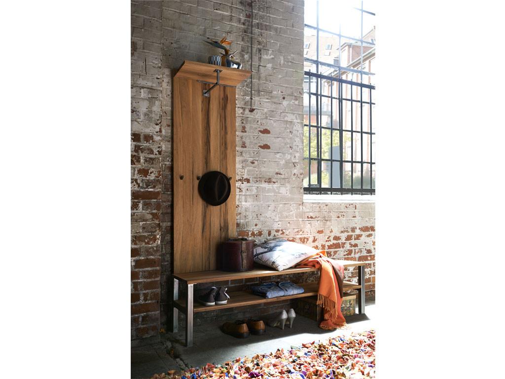 dębowy panel wiszący w stylu rustykalnym