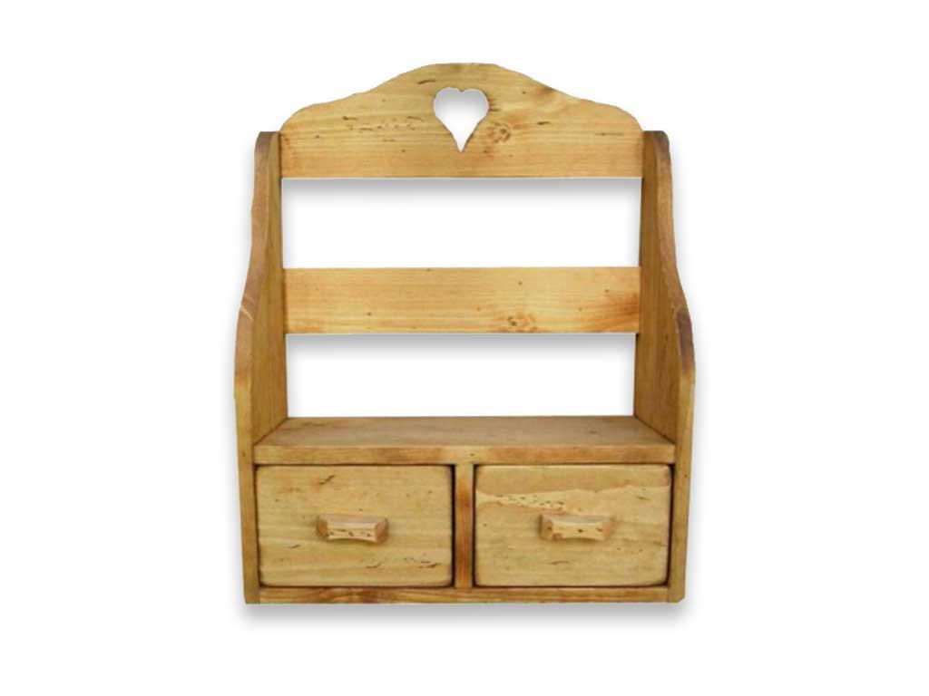 Półka wisząca drewniana Mexicana 3