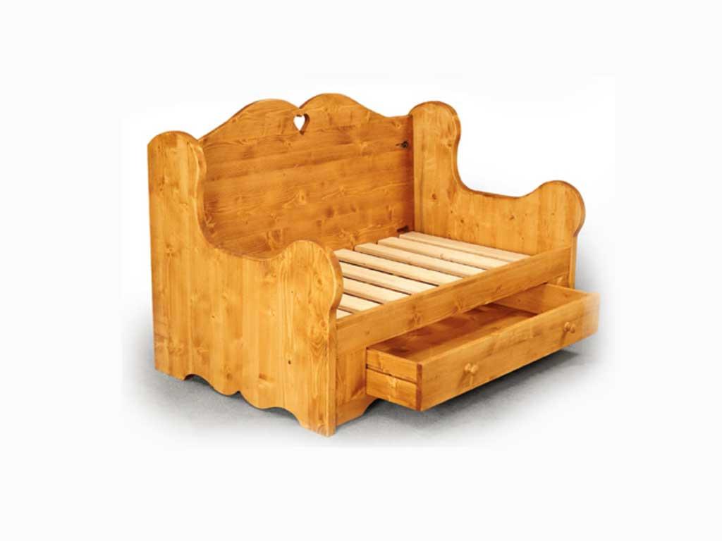 Sofa drewniana Mexicana 1