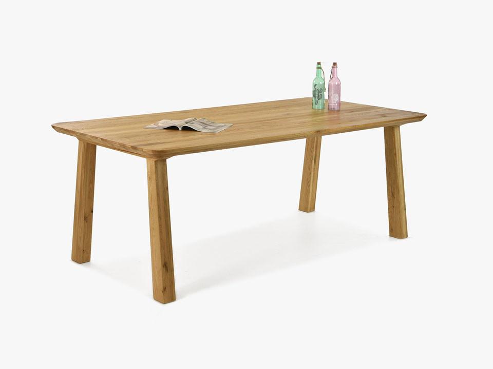 stół dębowy drewniany do jadalni
