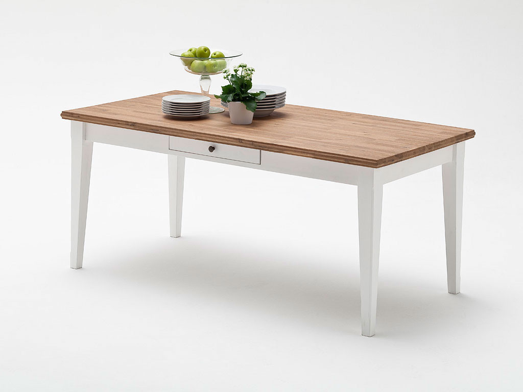 Stół akacjowy Fado 1 - 180x90cm