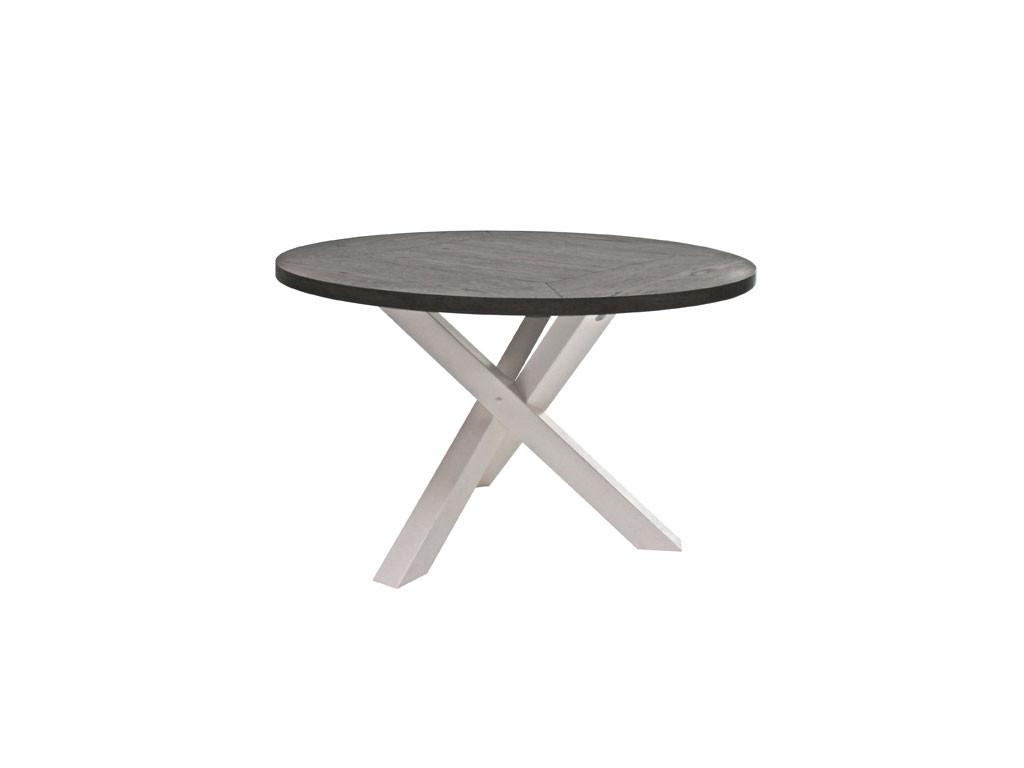 Stół dębowy okrągły 120cm Olsen