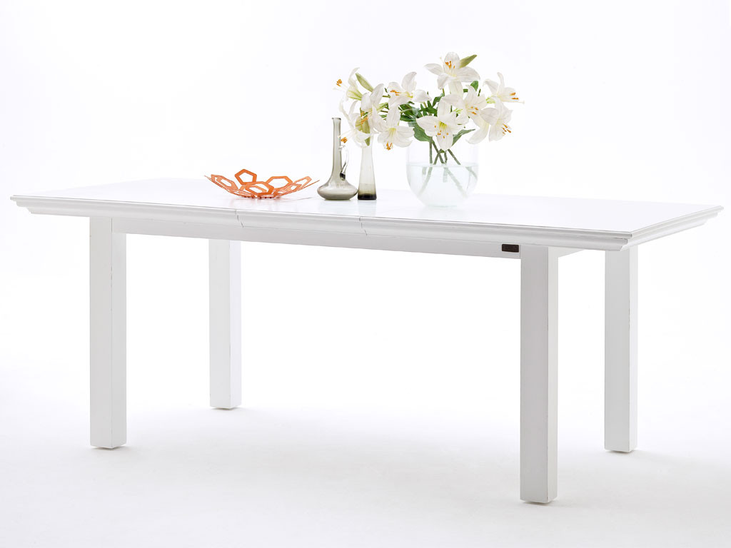 Stół z drewna mahoniowego rozsuwany Halifax