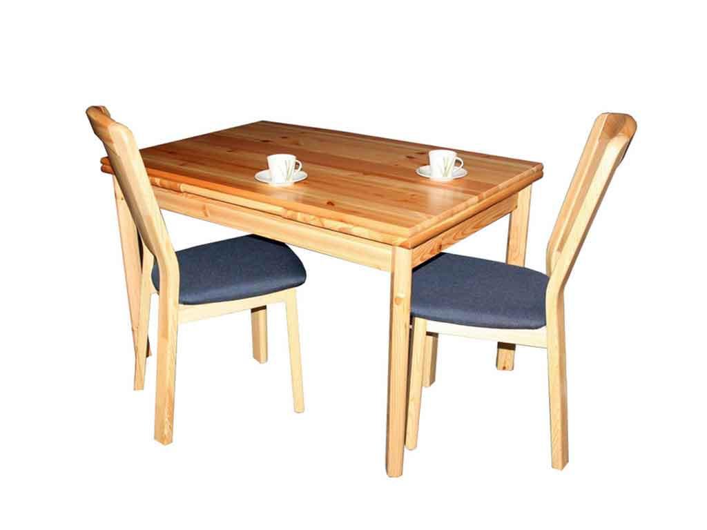 Stół drewniany, sosnowy rozkładany Marco 8