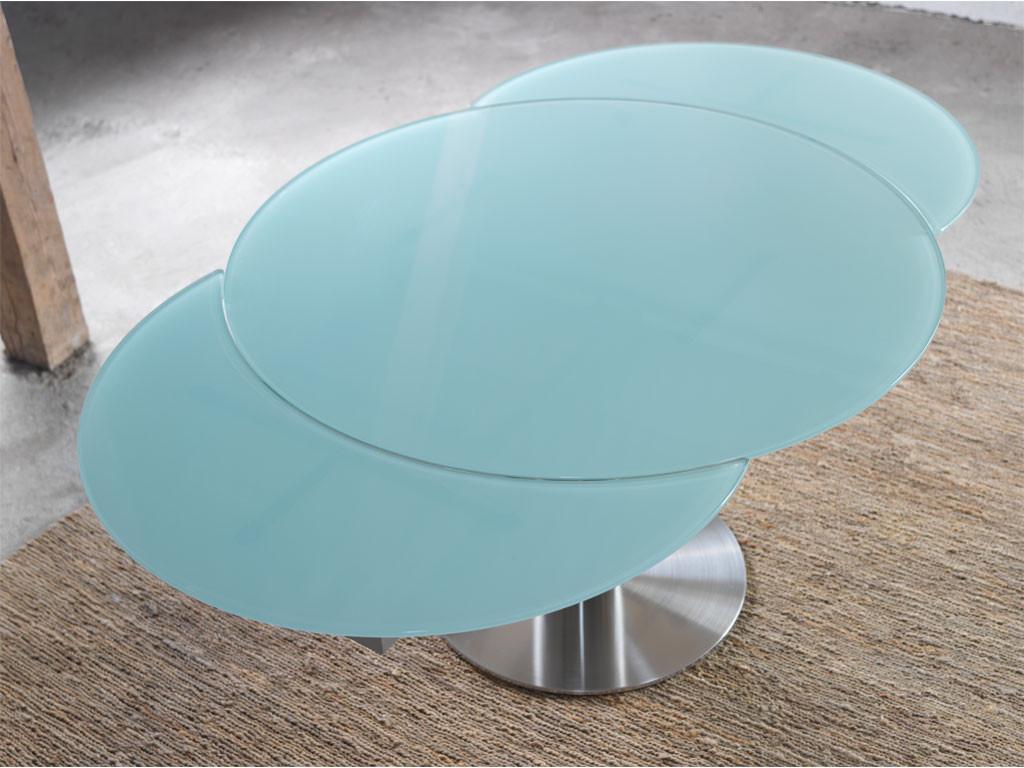Szklany stół rozkładany Verdi 3