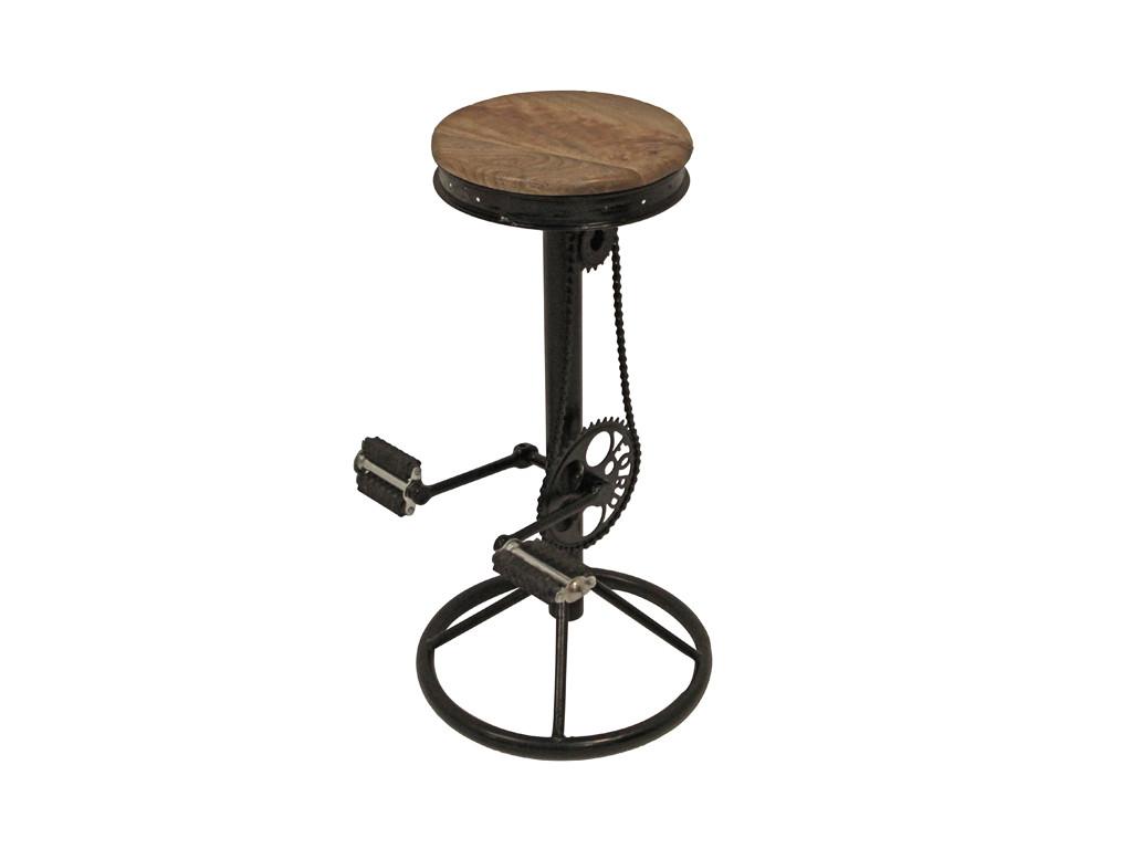 Industrialny stołek barowy Farrier 1