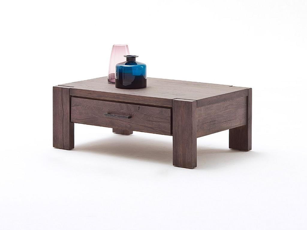 Stolik z drewna dębowego Massiv