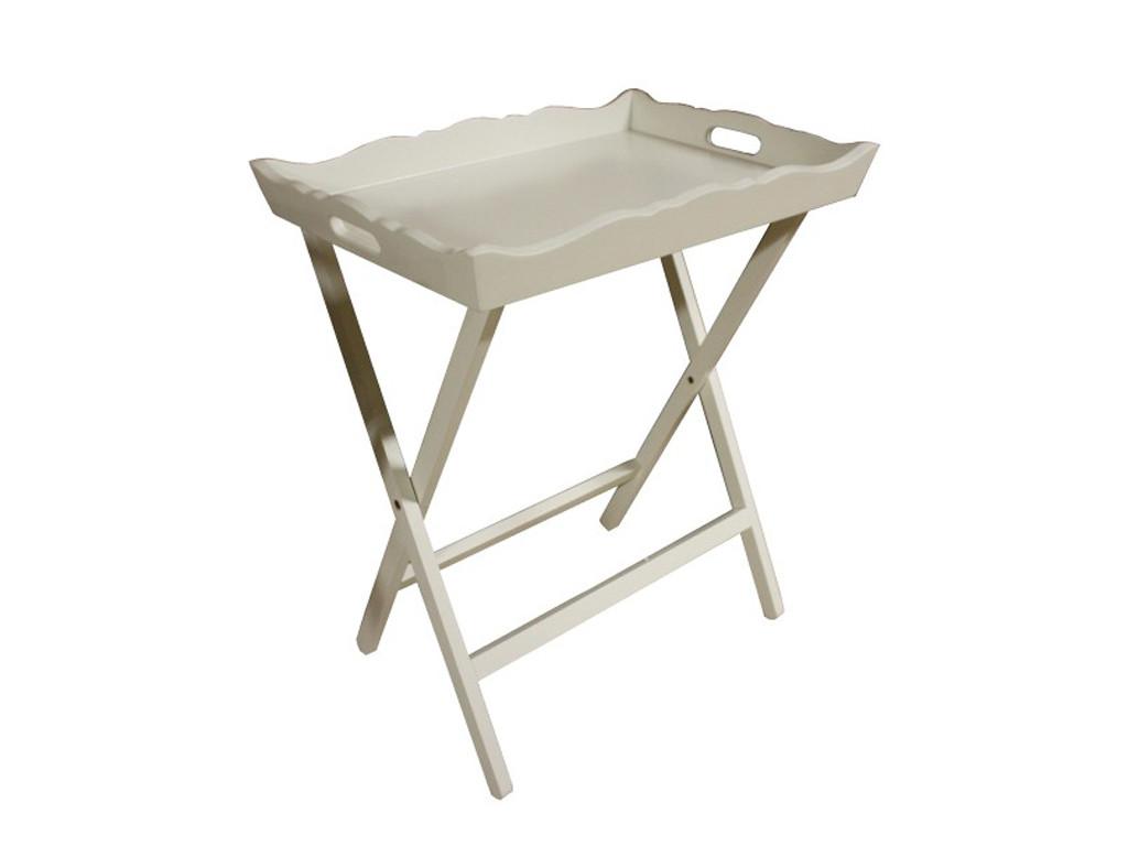 Biały stolik śniadaniowy White Mango 1