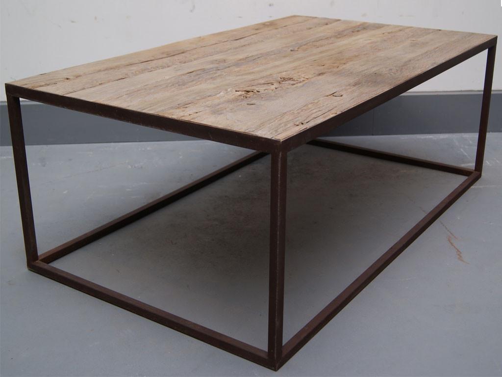 Prostokątny stolik z drewna teakowego This & That 4