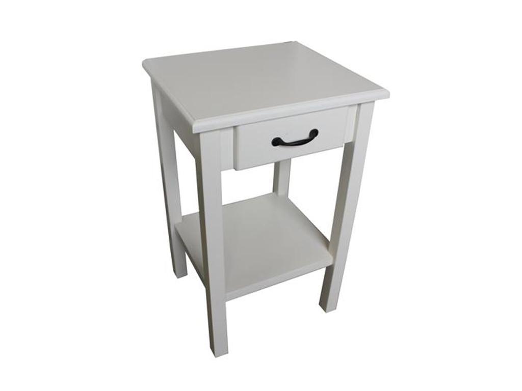 Biały stolik pod telefon White Mango 5