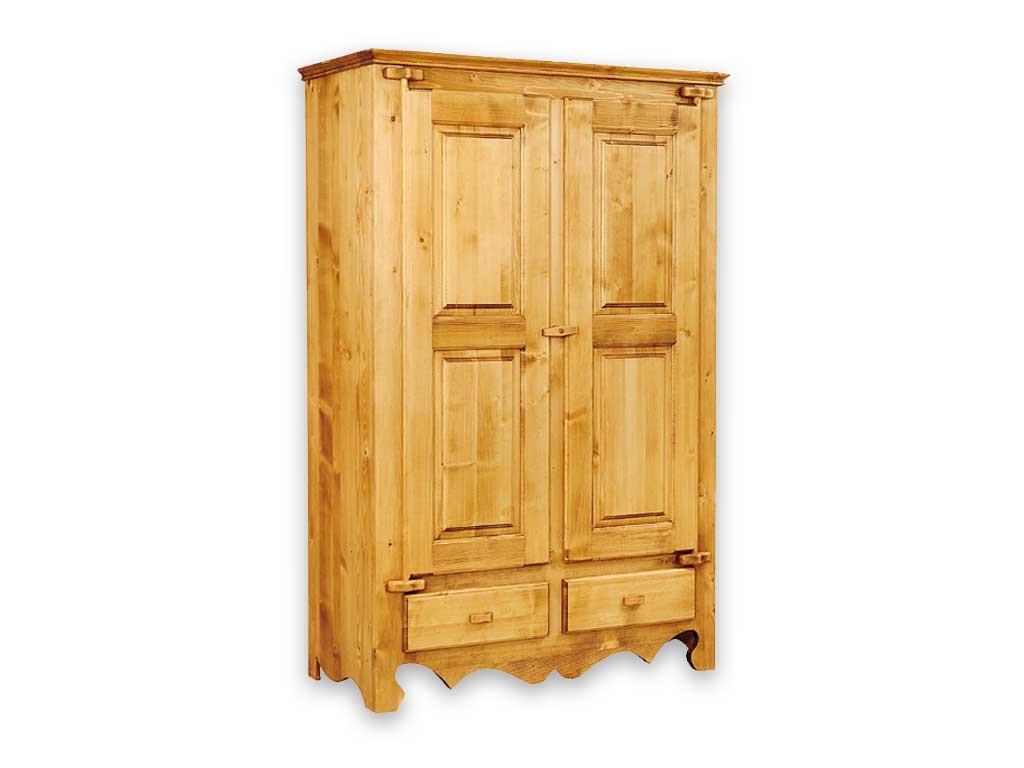 Drewniana szafa dwudrzwiowa Mexicana 1