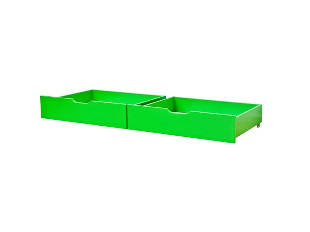 Szuflady Maja MIX 60 dla łóżek 70x160 Zielone