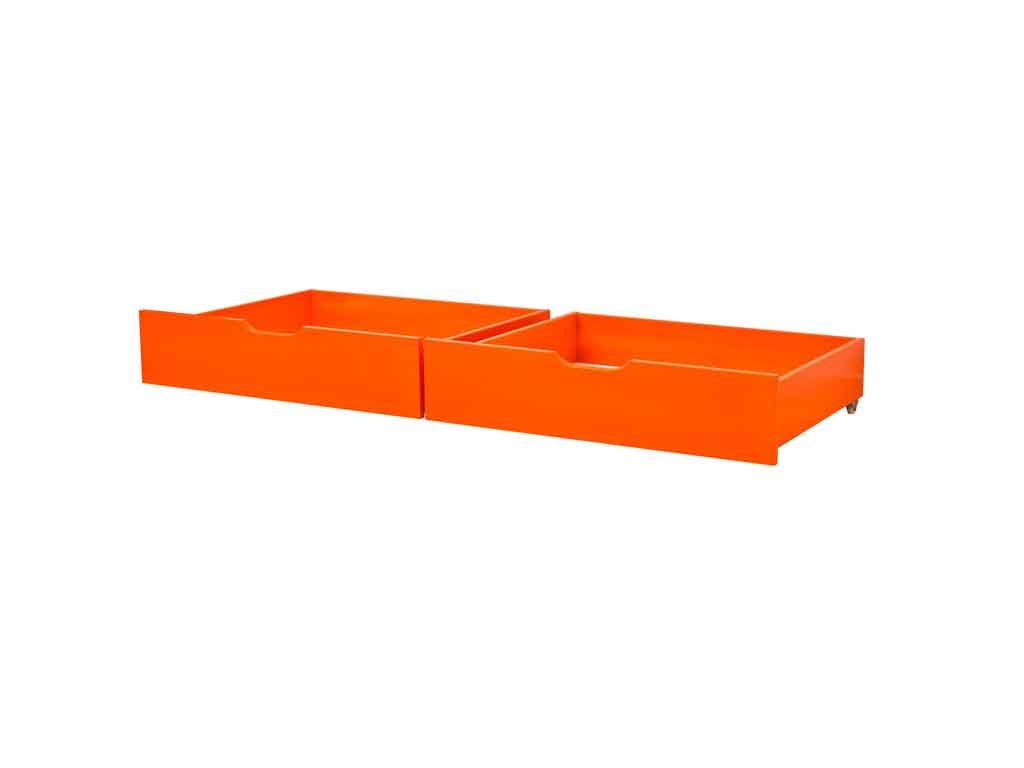 Szuflady Maja MIX 60 dla łóżek 90x200 i 70x190 Pomarańczowe