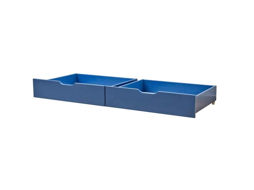 Szuflady Maja MIX 60 dla łóżek 90x200 i 70x190 Niebieskie