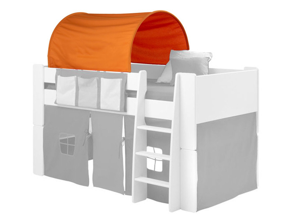 Tunel pomarańczowy krótki do łóżka Steens for kids oraz Junior - OSTATNIE SZTUKI