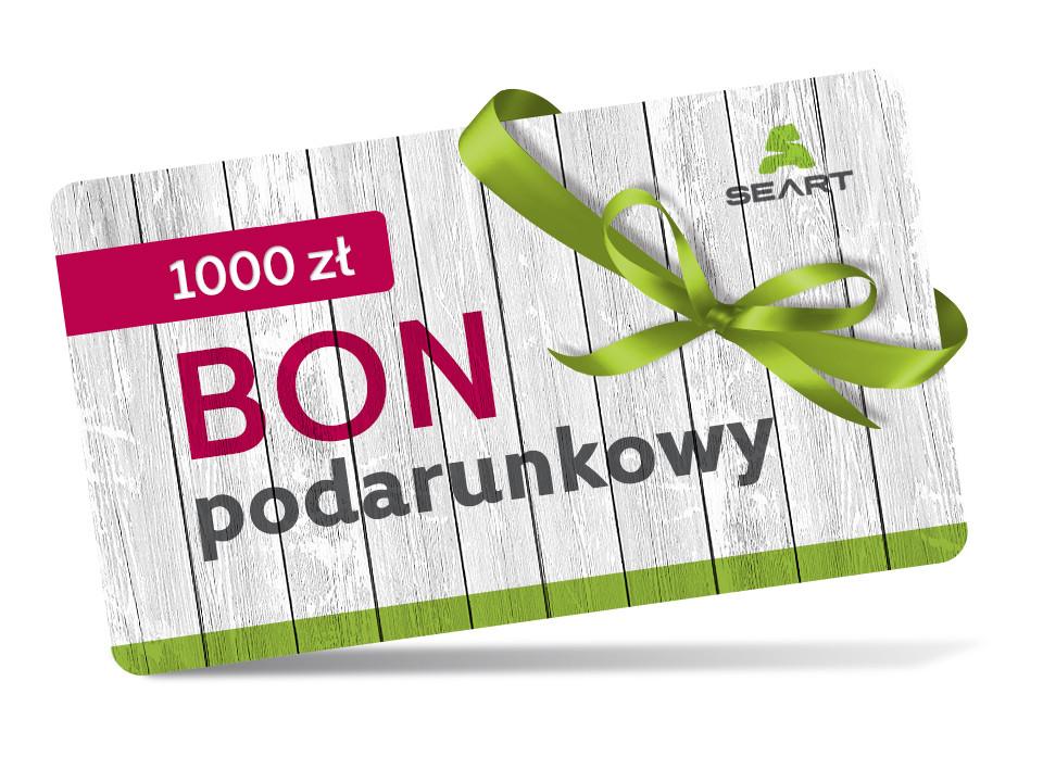 Kupon podarunkowy o wartości 1000 zł