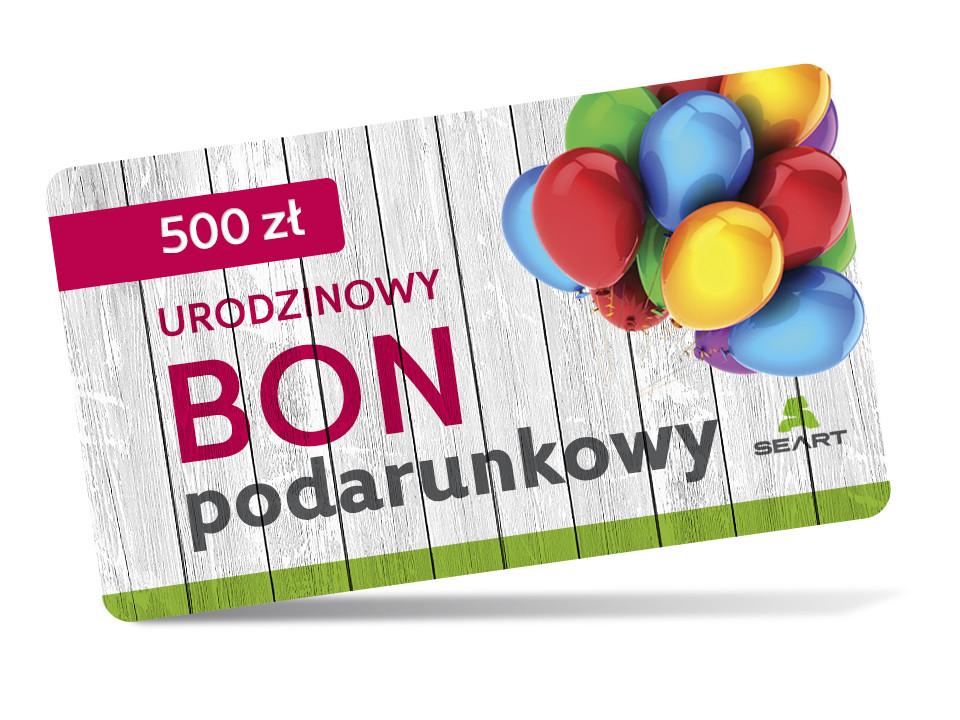 Urodzinowy kupon podarunkowy - 500 zł