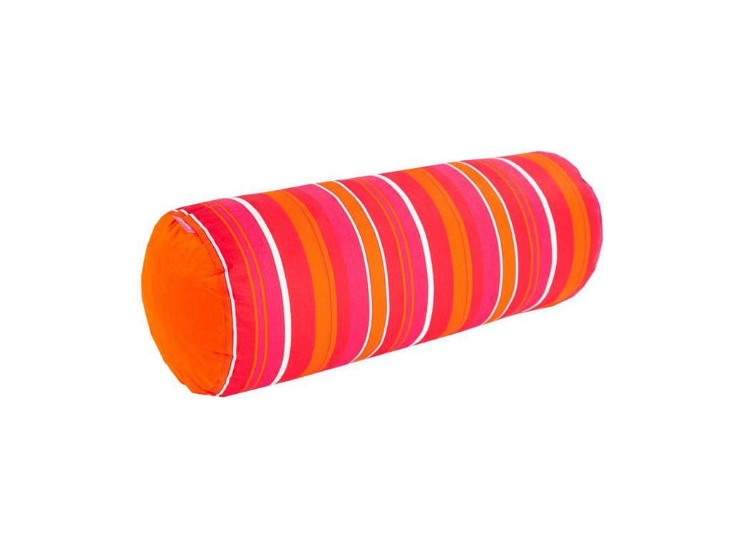 poduszki w kolorach tęczy