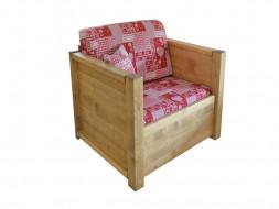 Fotel drewniany Sara 1