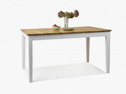 dębowy stół drewniany do jadalni
