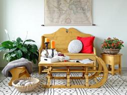 Ława drewniana Mexicana 9