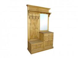 drewniana garderoba do przedpokoju