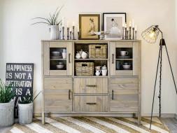 kredens drewniany do salonu