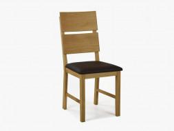 krzesło tapicerowane drewniane do jadalni