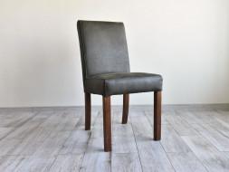 skórzane krzesło rustykalne