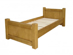 Łóżko drewniane Vintage 90x200