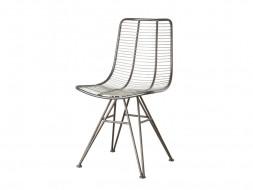 metalowe krzesło nowoczesne