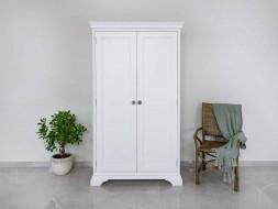 szafa drewniana biała