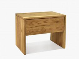 szafka nocna dębowa drewniana