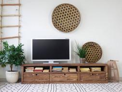 szafka pod tv drewniana