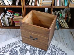 szuflada regał drewnianay