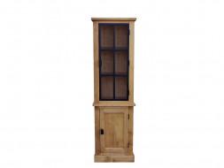 witryna drewniana do salonu