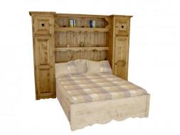 Zabudowa meblowa do łóżka Mexicana 5 160x190