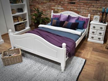 Łóżko świerkowe Charlotte Mix