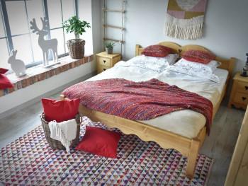 Łóżko drewniane Mexicana 3 160x200