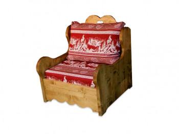 Fotel z drewna świerkowego Mexicana 1