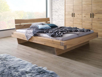 Masywne łóżka z litego drewna dębowego