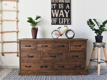 komoda z drewna rustykalna