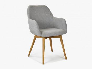 krzesło tapicerowane do salonu