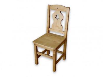 Krzesło z drewna świerkowego Mexicana 2