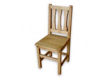 Krzesło z drewna świerkowego Mexicana 3