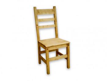 Krzesło z drewna świerkowego Mexicana 4