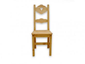 Krzesło z drewna świerkowego Mexicana 6